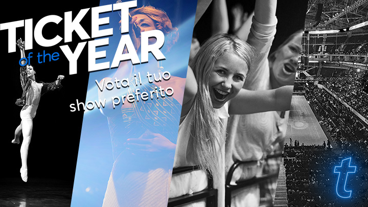 Si aprono le votazioni per Ticket Of The Year: Ticketmaster Italia invita i fan a votare il proprio show preferito del 2019